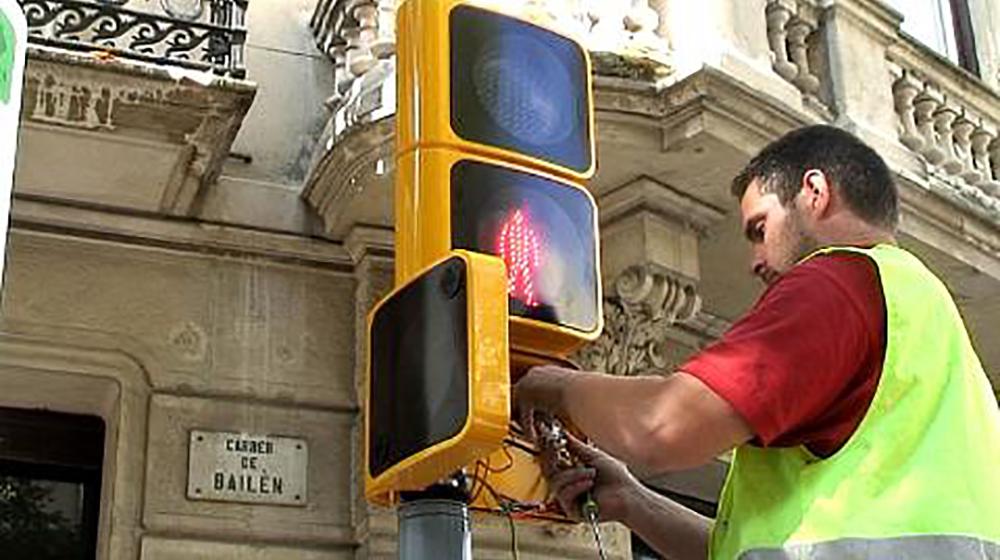 Semaforo Barcelona